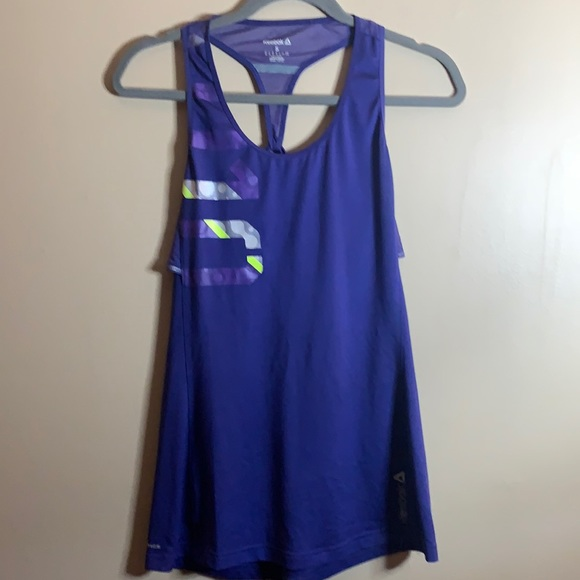 Reebok Blue Tank Top Small